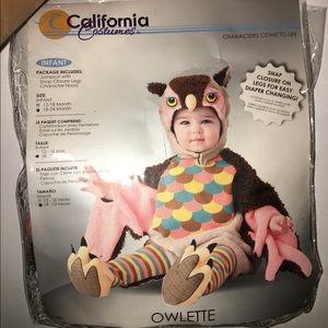 ADORABLE owl costume!